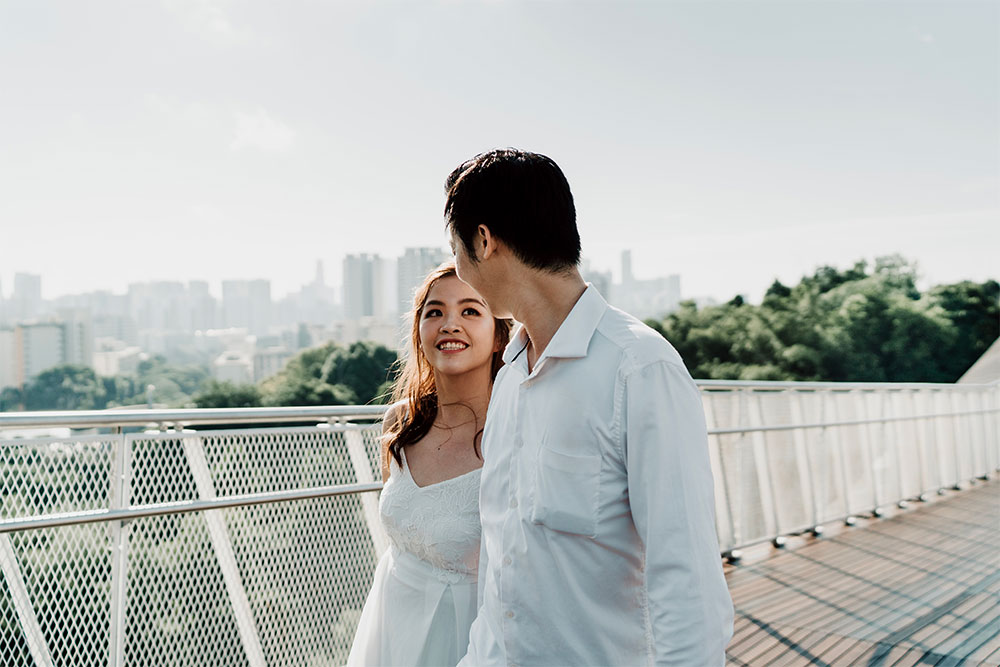 Henderson Waves Pre Wedding Photoshoot - Juveline + Mike